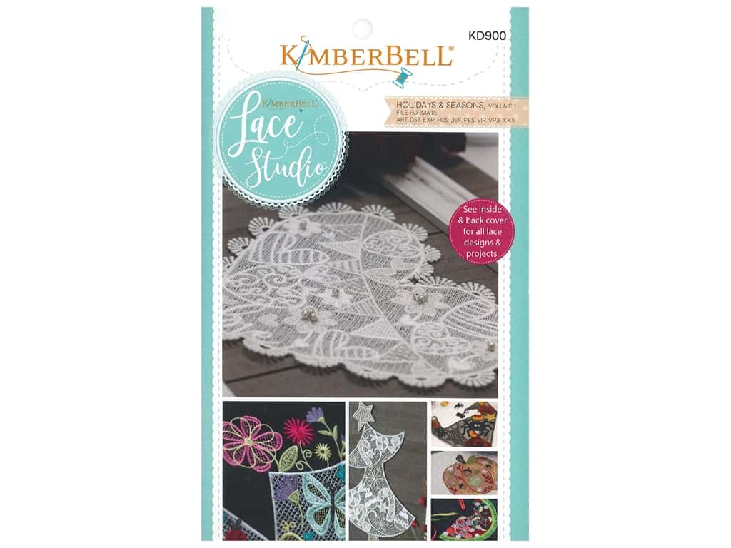 Kimberbell Designs Lace Studio Holiday & Season Volume 1 CD
