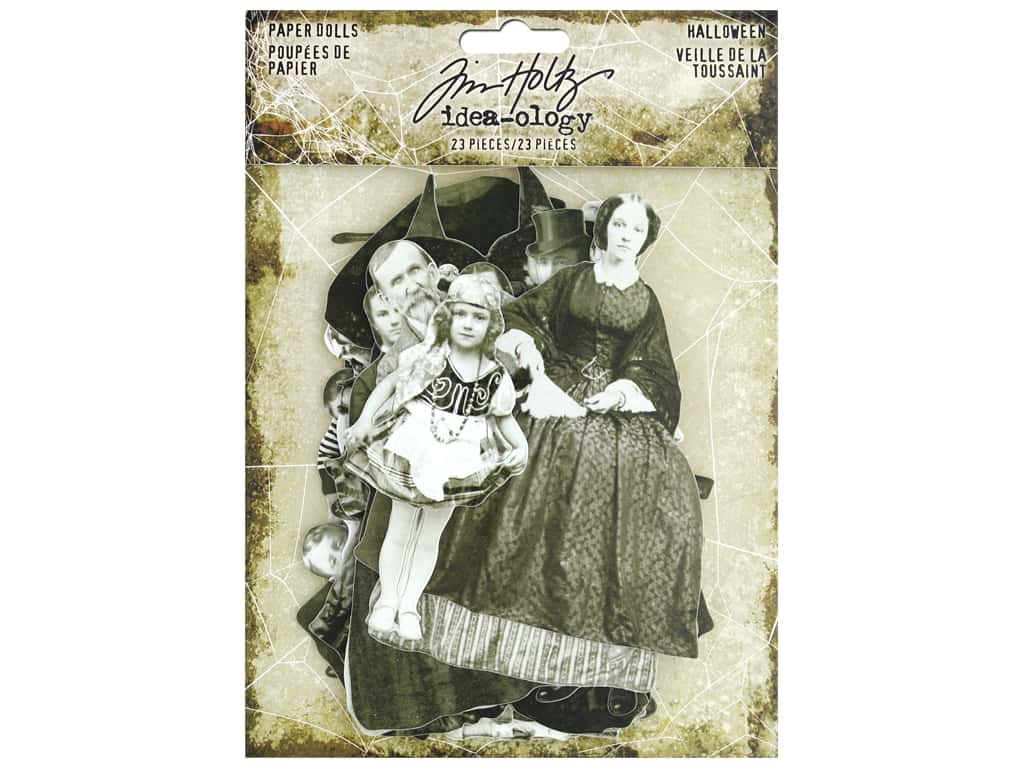 Tim Holtz Idea-ology Halloween Paper Dolls
