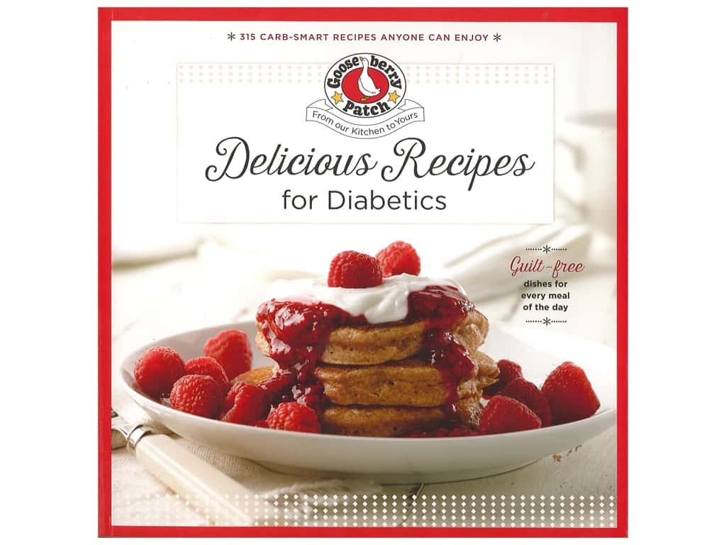 Gooseberry Patch Delicious Recipes For Diabetics Book
