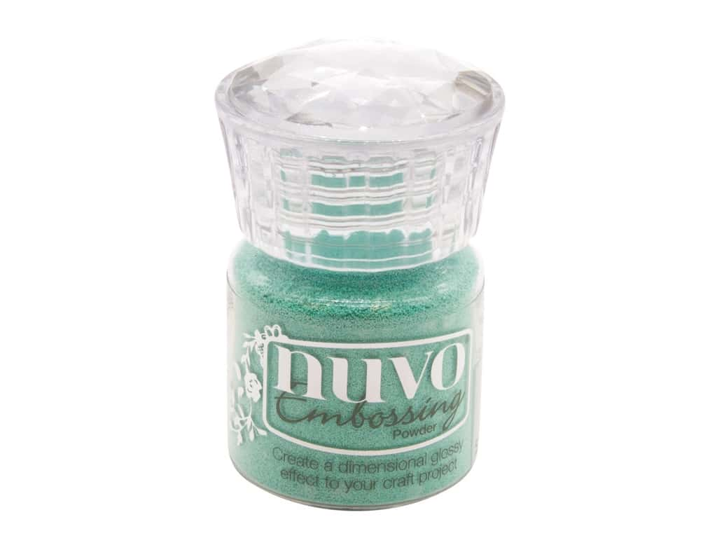 Nuvo Embossing Powder .7 oz Turquoise Lagoon