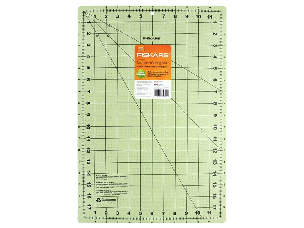 Fiskars Self-Healing Cutting Mat 12 x 18 in. Eco