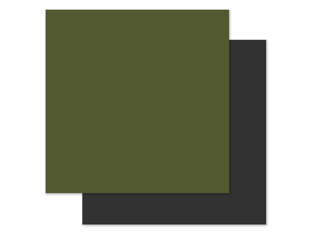 Echo Park Collection My Favorite Christmas Paper 12 in. x 12 in. Green/Grey (2 pieces)