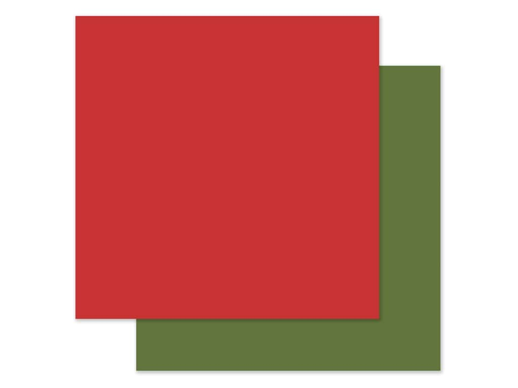 Echo Park Collection My Favorite Christmas Paper 12 in. x 12 in. Red/Green (2 pieces)