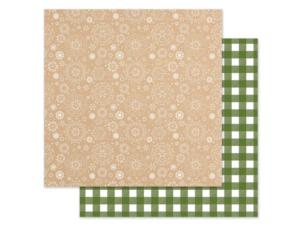 Echo Park Collection My Favorite Christmas Paper 12 in. x 12 in. White Winter (25 pieces)