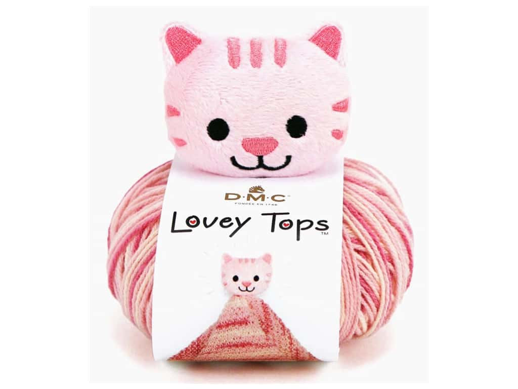 DMC Yarn Kit Lovey Tops Kitten