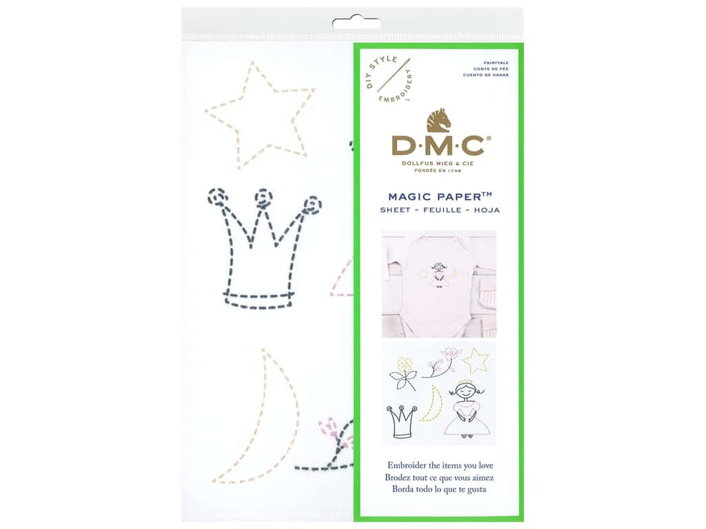 DMC Magic Paper Embroidery Fairy Tale 1 pc (3 pieces)