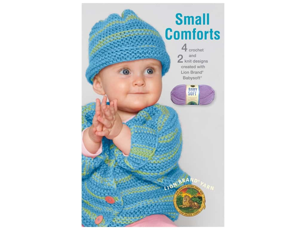 Leisure Arts Small Comforts Crochet Book