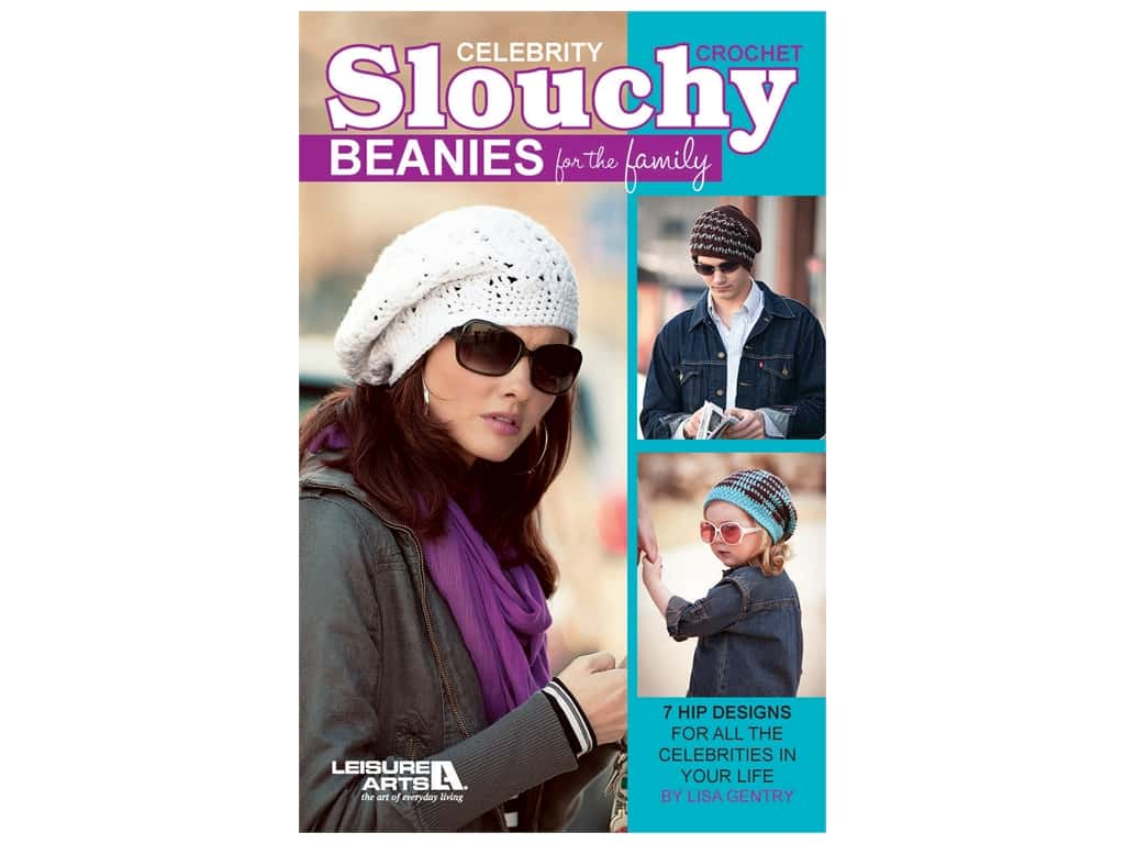 Crochet Celebrity Slouchy Beanies for the Family Book