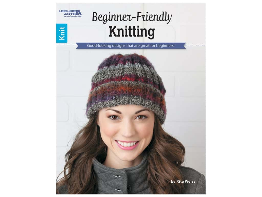 Leisure Arts Beginner-Friendly Knitting Book