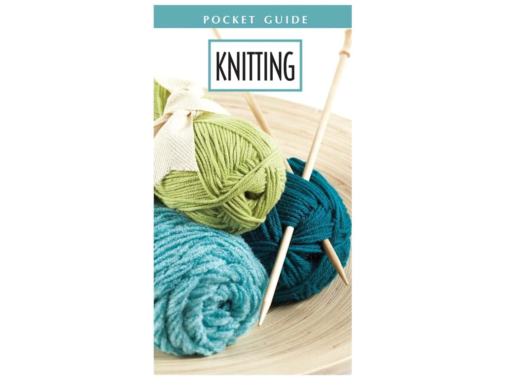 Leisure Arts Knitting Pocket Guide Book