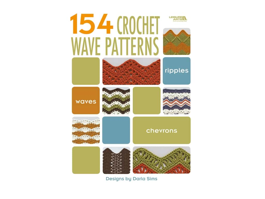 Leisure Arts 154 Crochet Wave Pattern Book