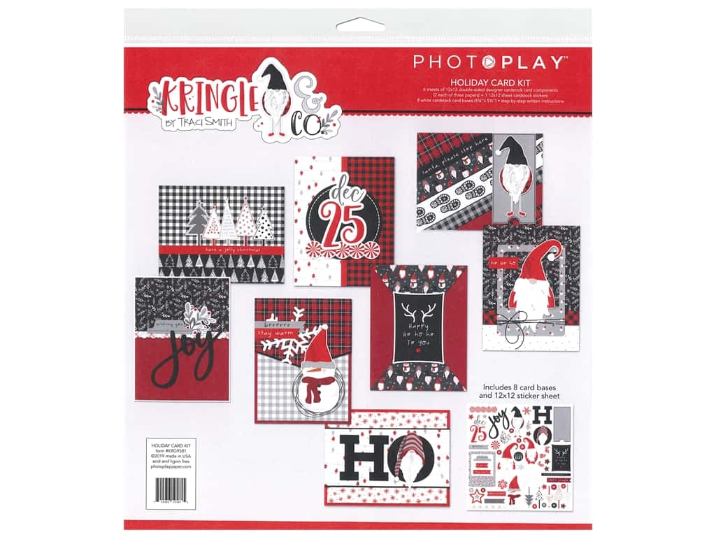 Photo Play Collection Kringle & Co Card Kit