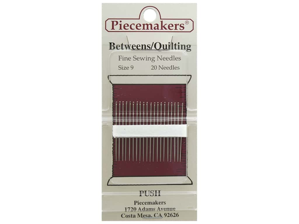Piecemakers Needles Betweens/Quilting Size 9 20 pc (3 packages)
