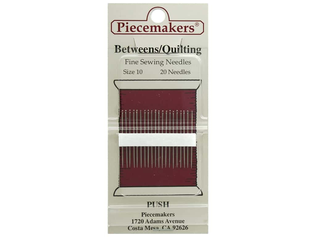 Piecemakers Needles Betweens/Quilting Size 10 (3 packages)