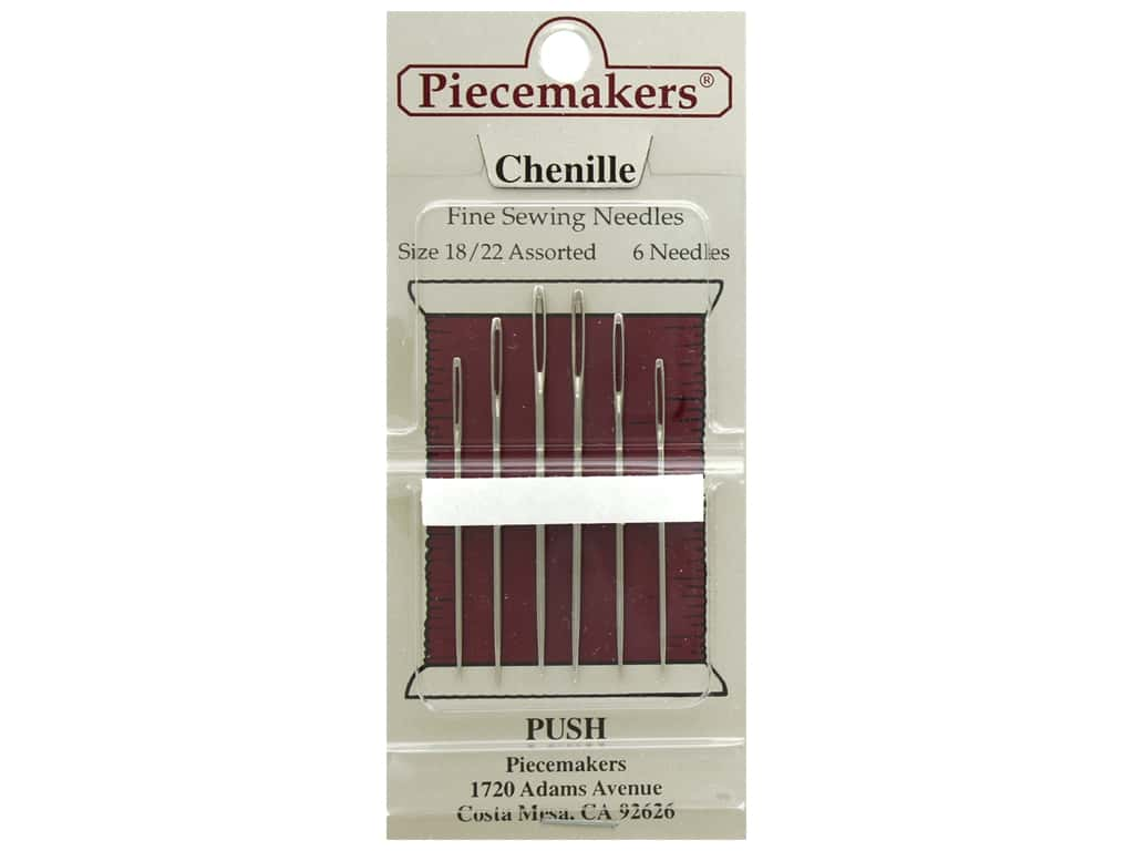 Piecemakers Needles Chenille Size 18/22 6 pc (3 packages)