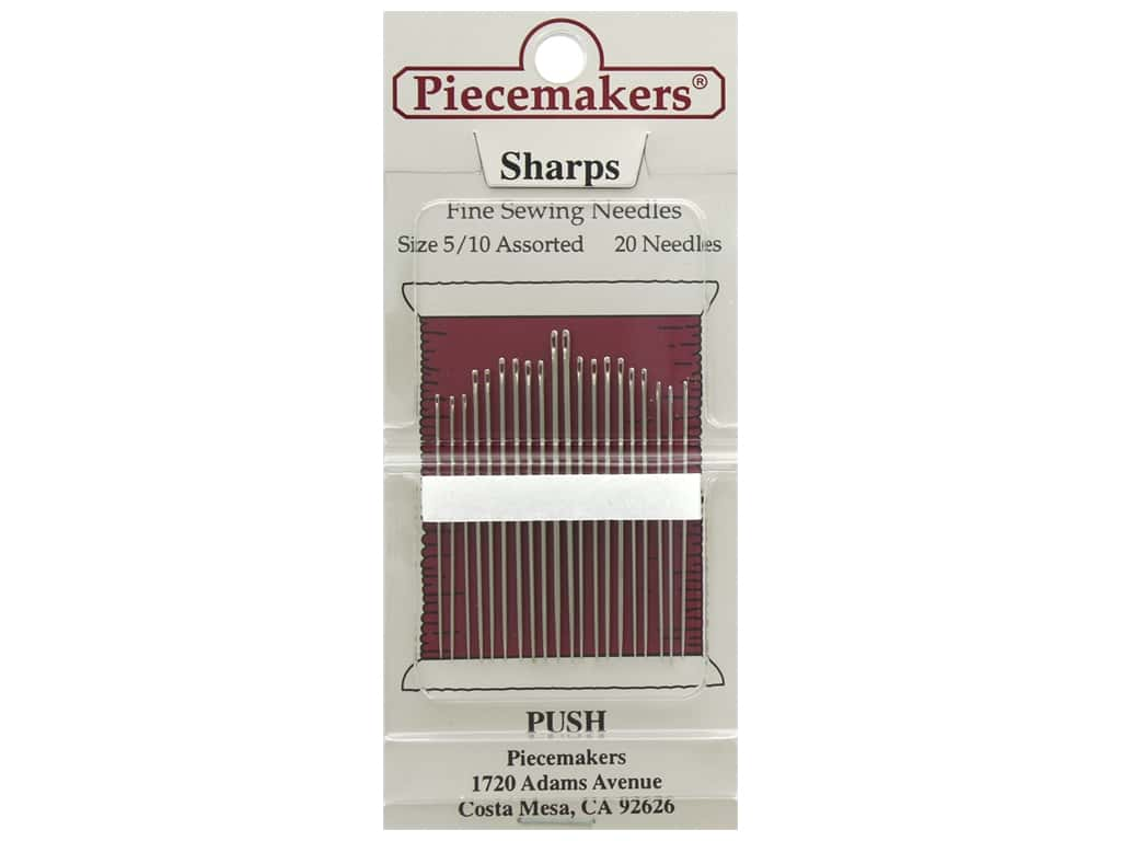 Piecemakers Needles Sharp Size 5/10 20 pc (3 packages)