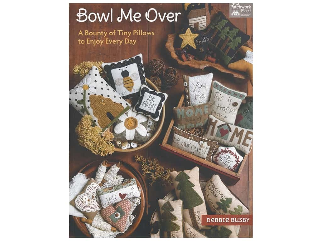 That Patchwork Place Bowl Me Over Book