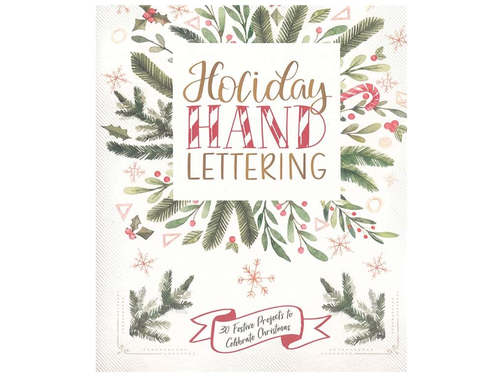 Lark Holiday Hand Lettering Book
