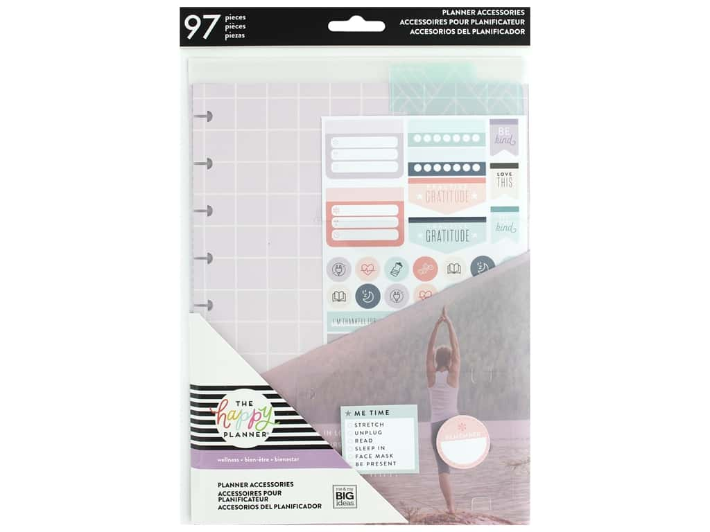 Me&My Big Ideas Happy Planner Accessory Pack Classic Wellness