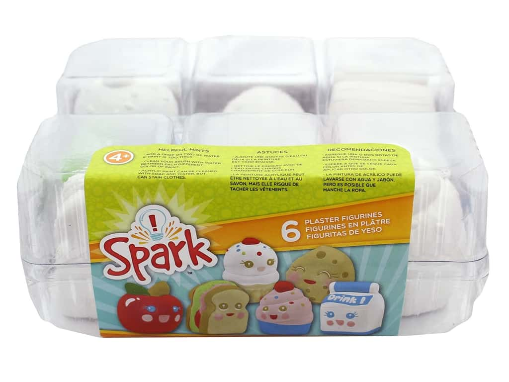 Colorbok Kit Spark Plaster Value Pack Lunch Buddies