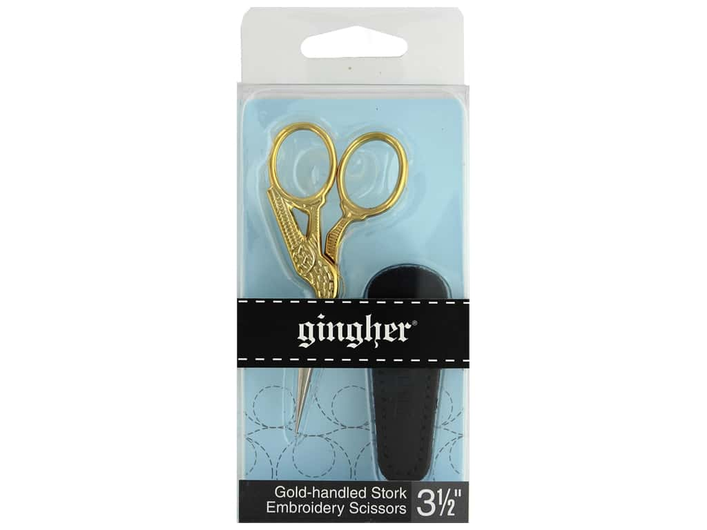 Gingher 3 1/2 in. Stork Embroidery Scissors