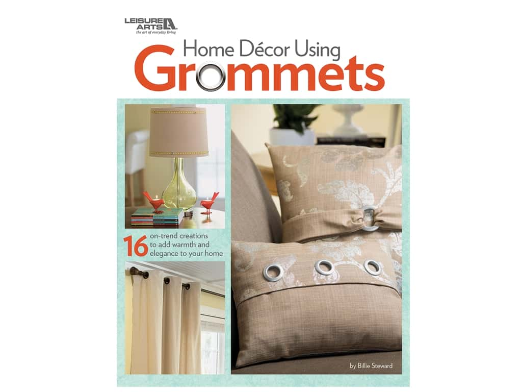 Leisure Arts Home Decor Using Grommets Book