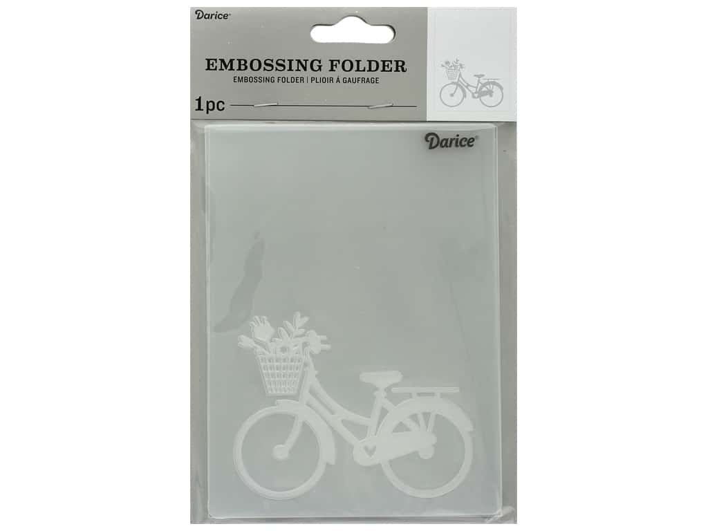 Darice Embossing Folder Bike