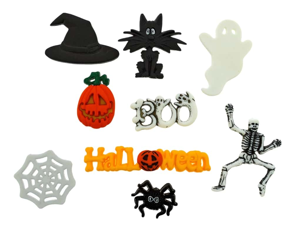 Jesse James Dress It Up Embellishments Spooktacular
