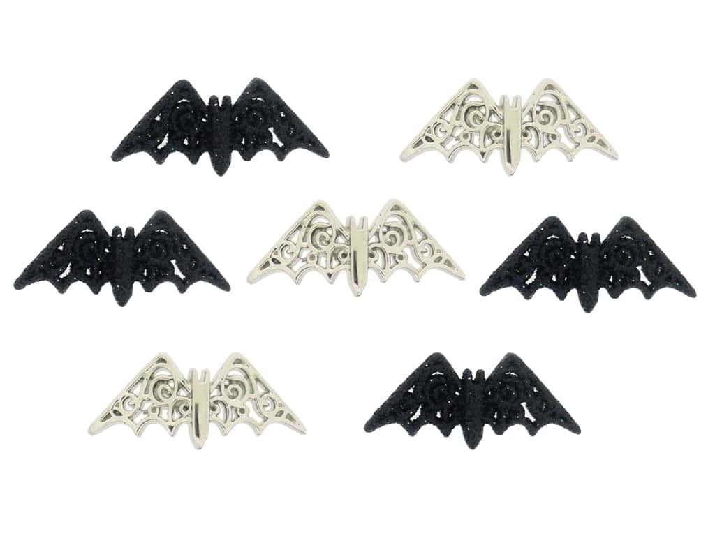 Jesse James Dress It Up Embellishments Bewitching Bats