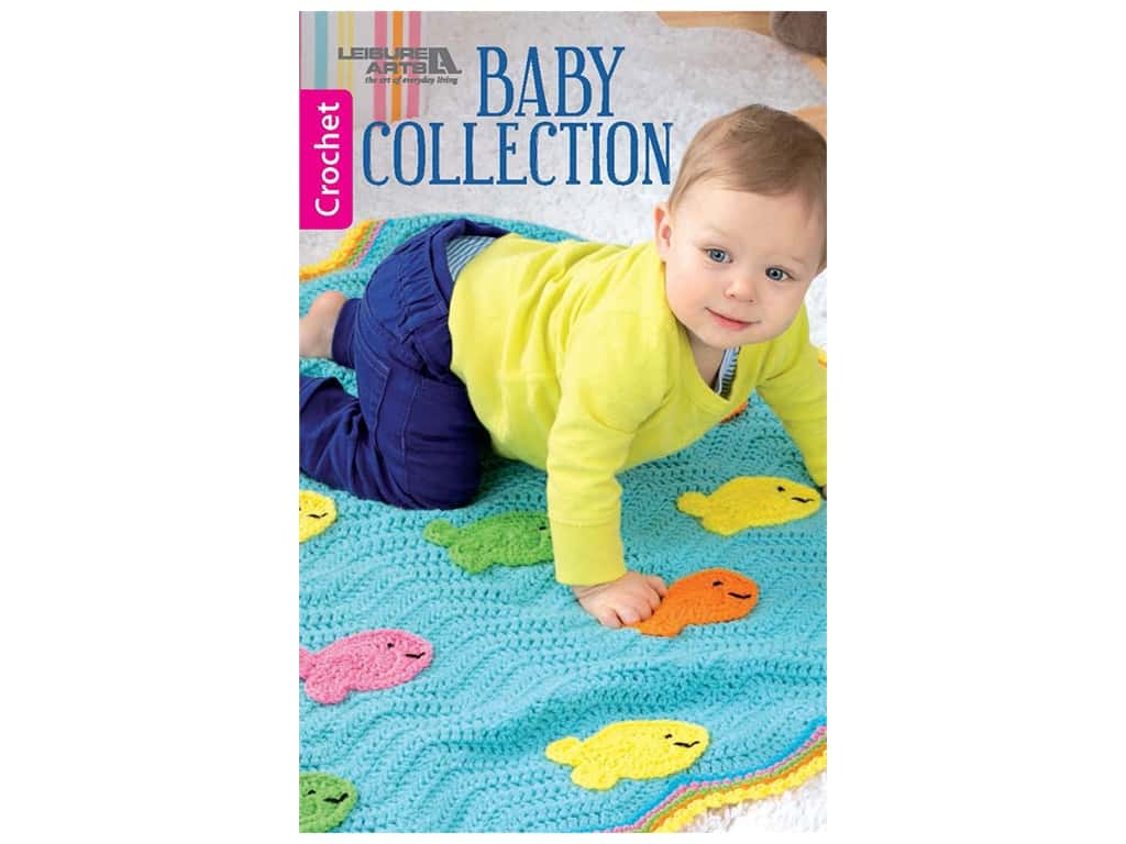 Leisure Arts Baby Collection Crochet Book
