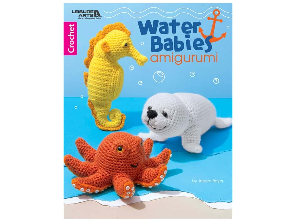 Leisure Arts Water Babies Amigurumi Book