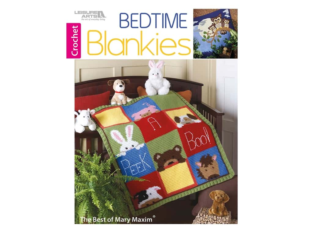 Leisure Arts Bedtime Blankies Book