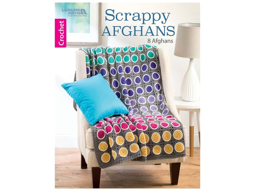 Leisure Arts Scrappy Afghans Book