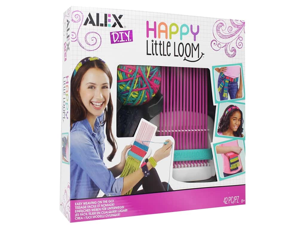Alex Kit DIY Happy Little Loom