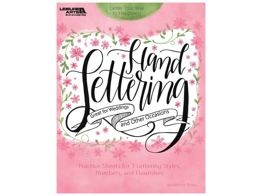 Leisure Arts Hand Lettering Book