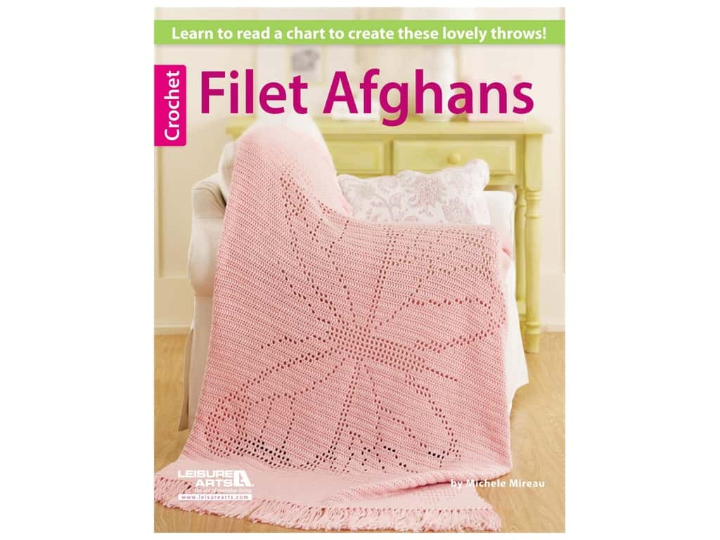 Filet Afghans Crochet Book
