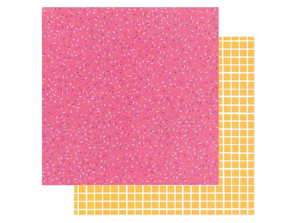 American Crafts Amy Tangerine 12 x 12 in. Paper Slice Of Life Sprinkle Confetti (25 pieces)