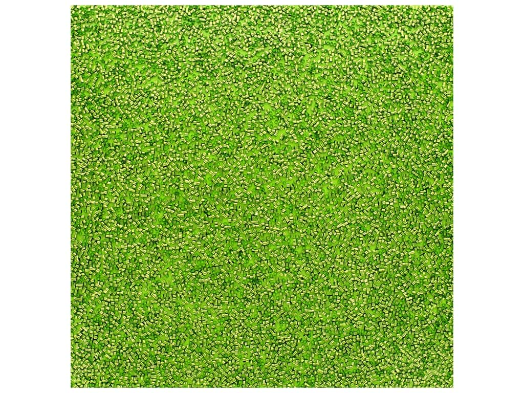 American Crafts Paper 12 in. x 12 in.  Specialty Confetti Grass (10 pieces)