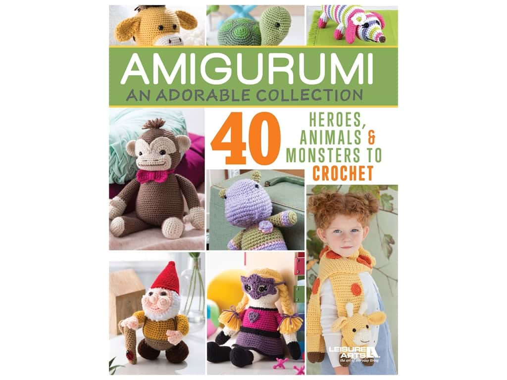 Leisure Arts Amigurumi An Adorable Collection Book