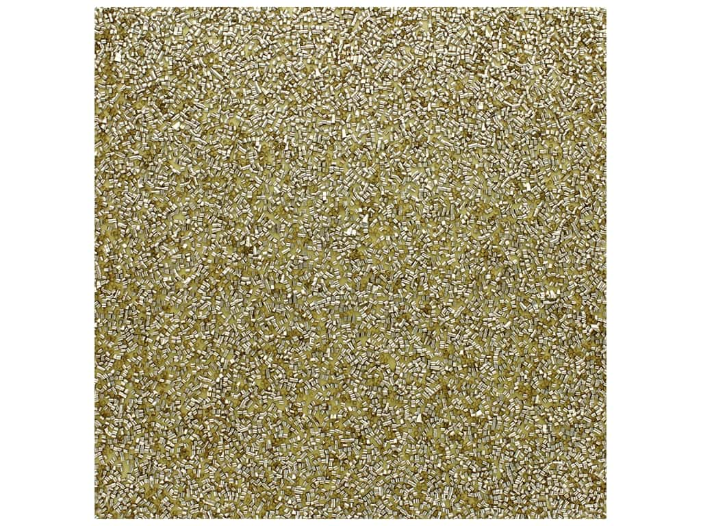 American Crafts 12 x 12 in. Tube Confetti Specialty Paper Gold (10 pieces)