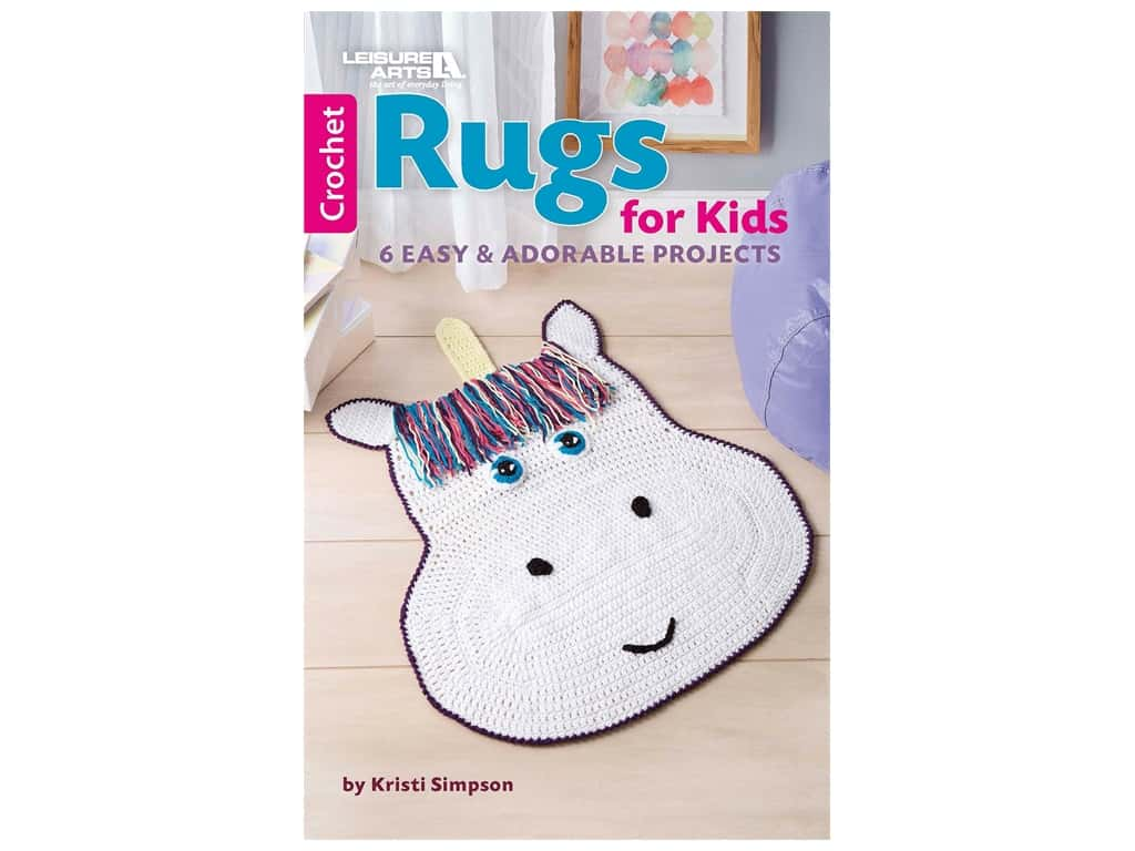Leisure Arts Rugs For Kids Book