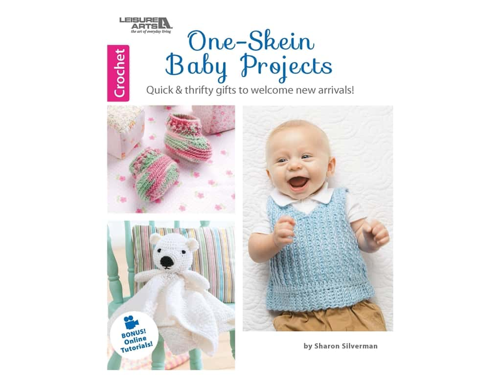 One-Skein Baby Projects Crochet Book