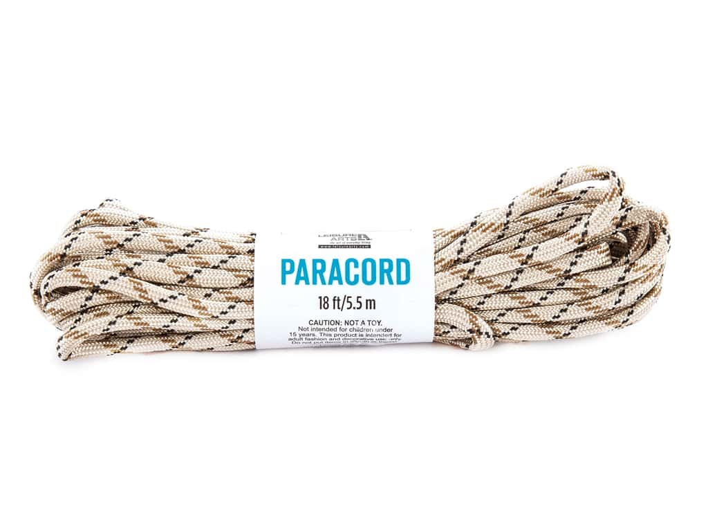 Leisure Arts Paracord Variegated Beige 18 ft