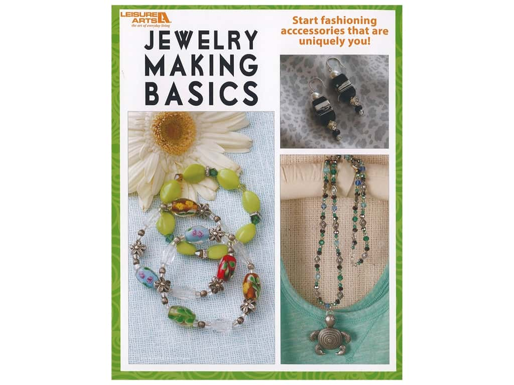 Leisure Arts Jewelry Making Basics Book