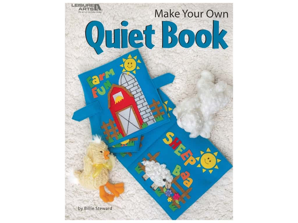 Leisure Arts Make Your Own Quiet Book
