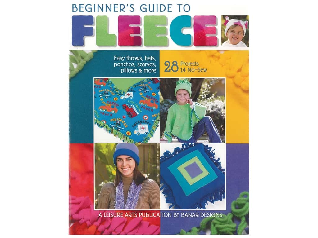 Leisure Arts Beginner's Guide To Fleece Book
