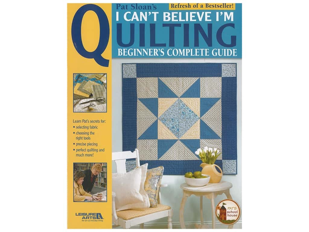 Leisure Arts I Can't Believe I'm Quilting Book