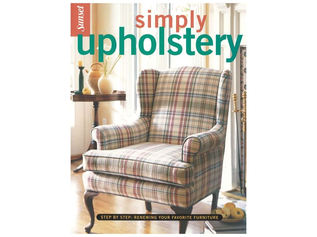 Leisure Arts Simply Upholstery Book