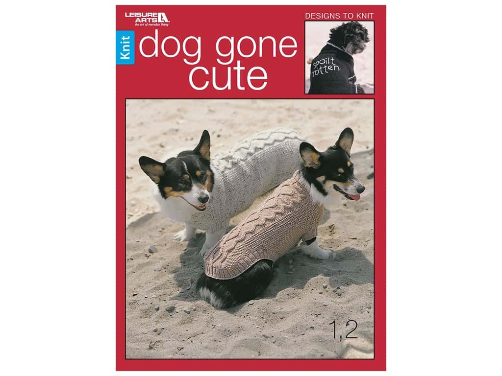 Leisure Arts Dog Gone Cute Book