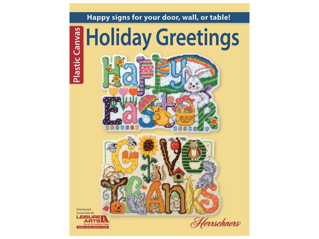 Leisure Arts Holiday Greetings Book